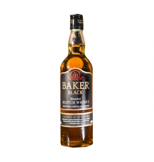 Whisky Baker Black