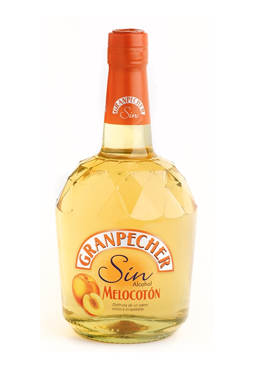 GranPecher Licor Melocotón Sin Alcohol